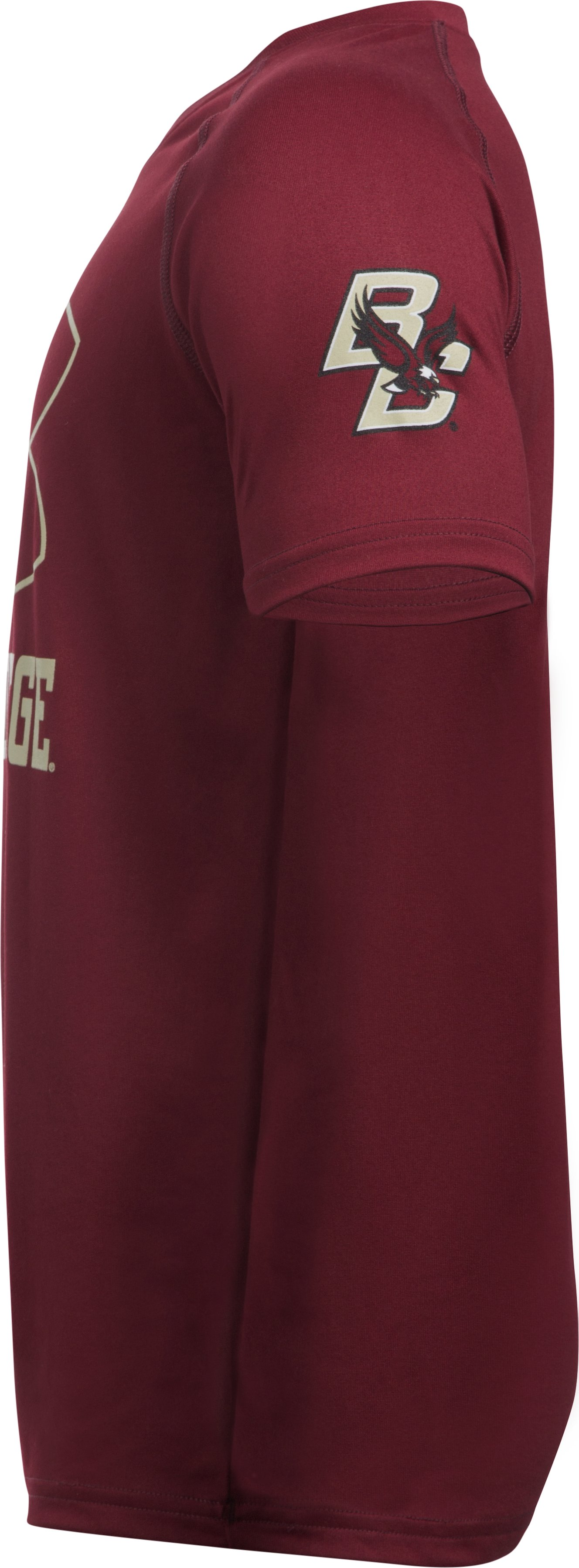 Boys' Boston College Charged Cotton® T-Shirt, Cardinal,