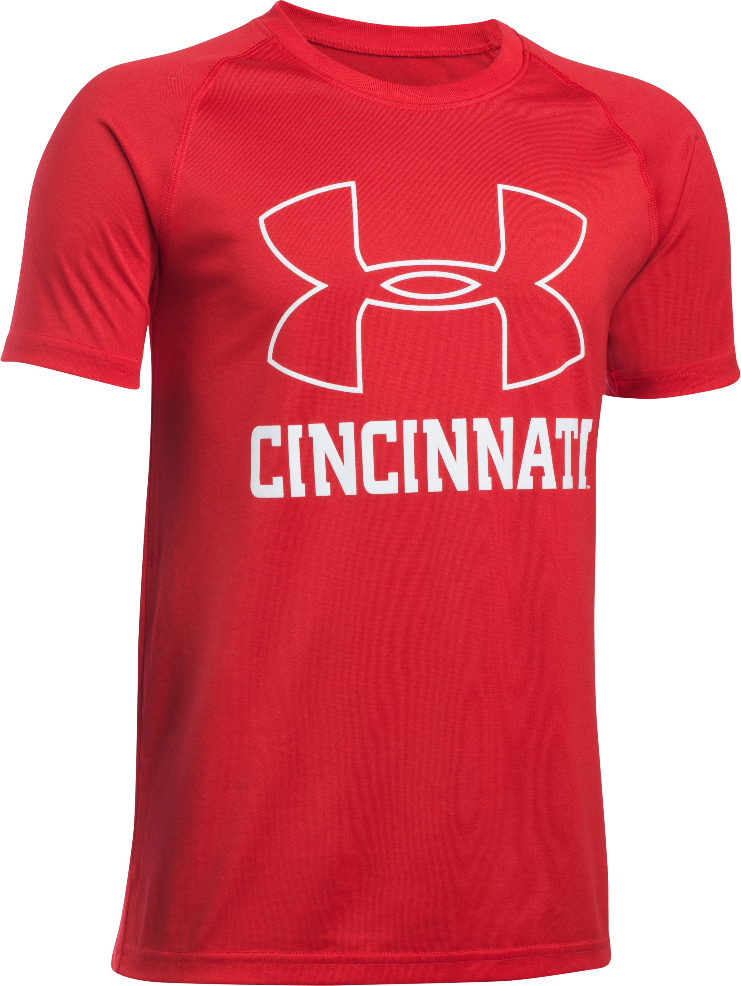 Boy's Cincy Graphic Tee, Red, zoomed image