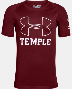 New Arrival Boys' Temple Charged Cotton® T-Shirt  1 Color $25.99