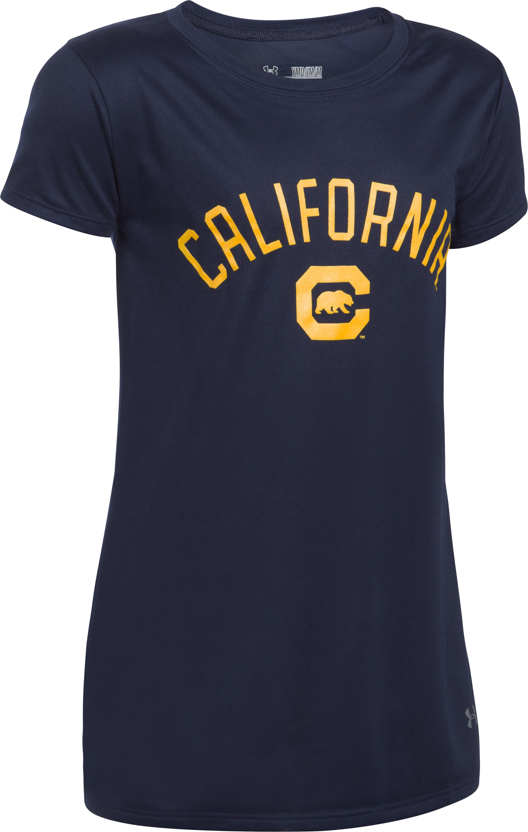 Girl's UA Tech™ California Graphic T-Shirt, Midnight Navy, undefined