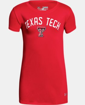 New Arrival Girls' Texas Tech UA Graphic T-Shirt  1 Color $25.99