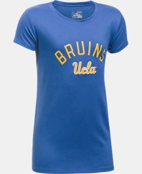 Girls'  UCLA UA Tech™ Graphic Short Sleeve T-Shirt  1 Color $25.99