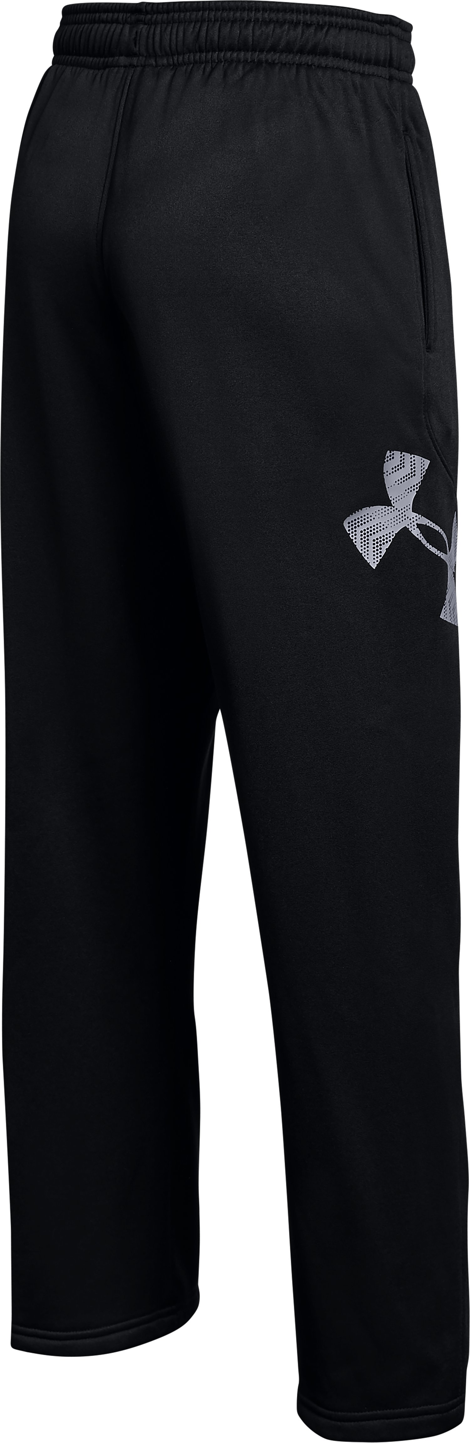Boys' Maryland UA Big Logo Pants, Black ,