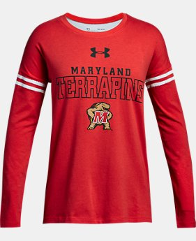 New Arrival Girls' Maryland Long Sleeve T-Shirt  1 Color $37.99
