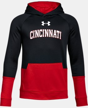 Boys' Cincinnati UA Tech Terry Hoodie  1 Color $59.99