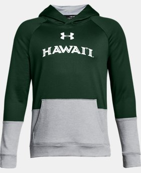 Boys' Hawai'i UA Tech Terry Hoodie  1 Color $54.99