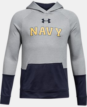New Arrival Boys' Naval Academy UA Tech Terry Hoodie  1 Color $59.99