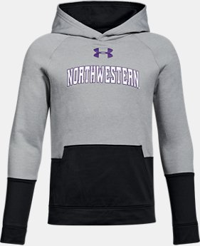 Boys' Northwestern UA Tech Terry Hoodie  1 Color $59.99