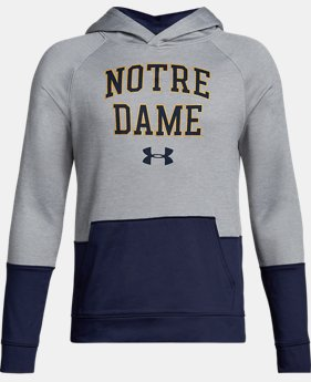New Arrival Boys' Notre Dame UA Tech Terry Hoodie  1 Color $59.99