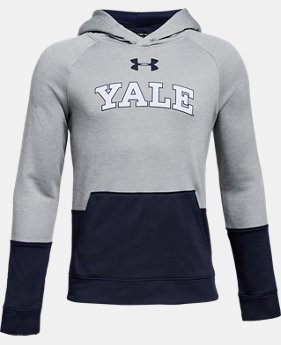 New Arrival Boys' Yale UA Tech Terry Hoodie  1  Color Available $59.99