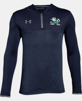 New Arrival Boys' Notre Dame Tech ¼ Zip Hoodie  1 Color $47.99