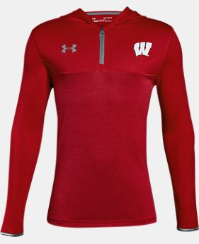 New Arrival Boys' Wisconsin ¼ Zip Hoodie  1 Color $47.99