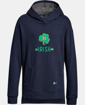 Girls' Notre Dame Armour Fleece® Hoodie  1  Color Available $54.99