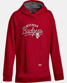 New Arrival Girls' Wisconsin Armour® Fleece Hoodie  1 Color $54.99