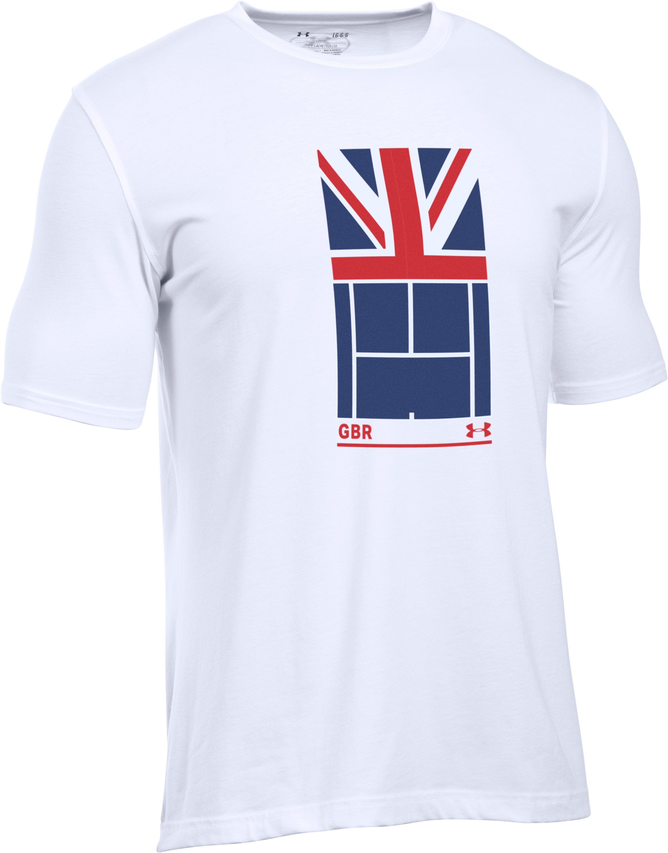 Men's UA Great Britain T-Shirt, White, undefined