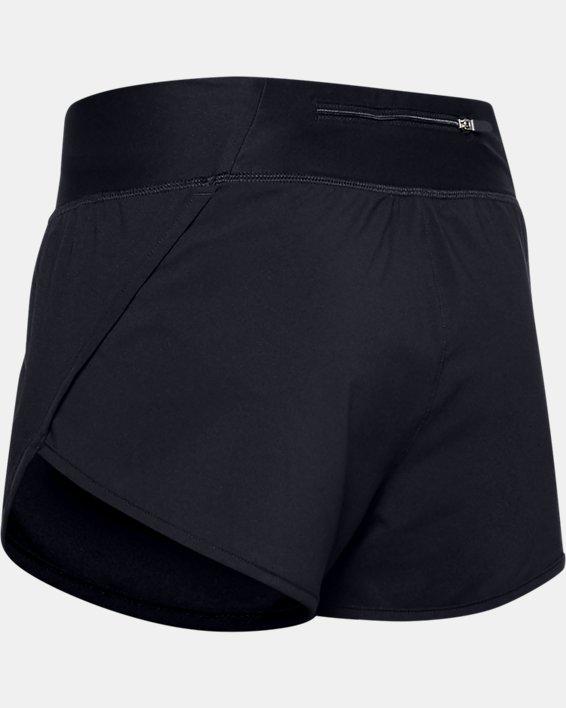 Women's UA Speedpocket Shorts, Black, pdpMainDesktop image number 4