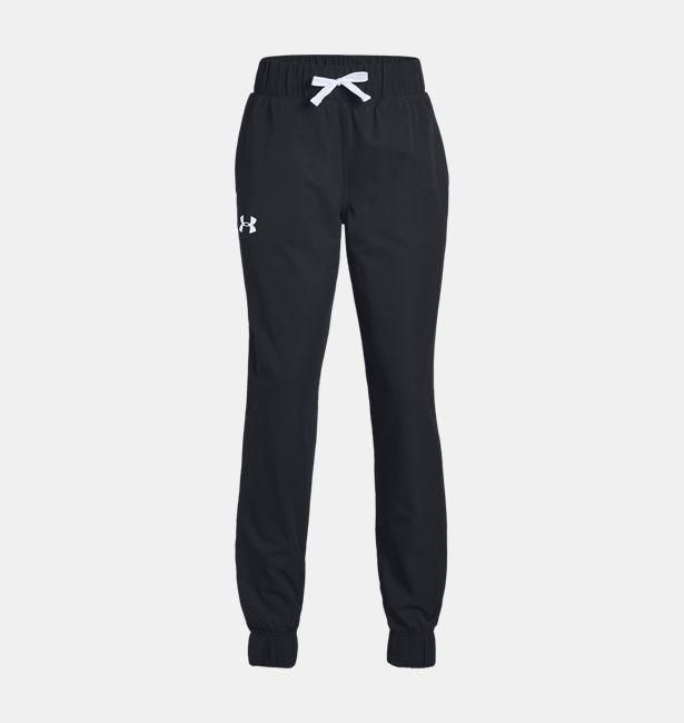 55595f939a7e Girls  UA Woven Warm Up Pants