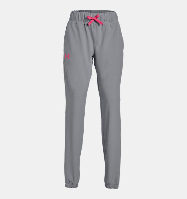 3982f550e3 Girls' UA Woven Warm Up Pants