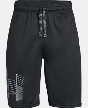 Boys' UA Prototype Logo Shorts  1  Color Available $20