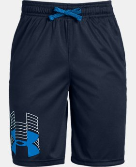 New Arrival Boys' UA Prototype Logo Shorts  1  Color Available $20