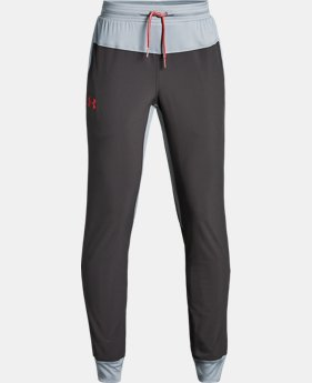 New Arrival  Boys' UA Lined Woven Pants  2  Colors Available $60