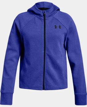 Girls' UA Finale Full Zip  3  Colors Available $45