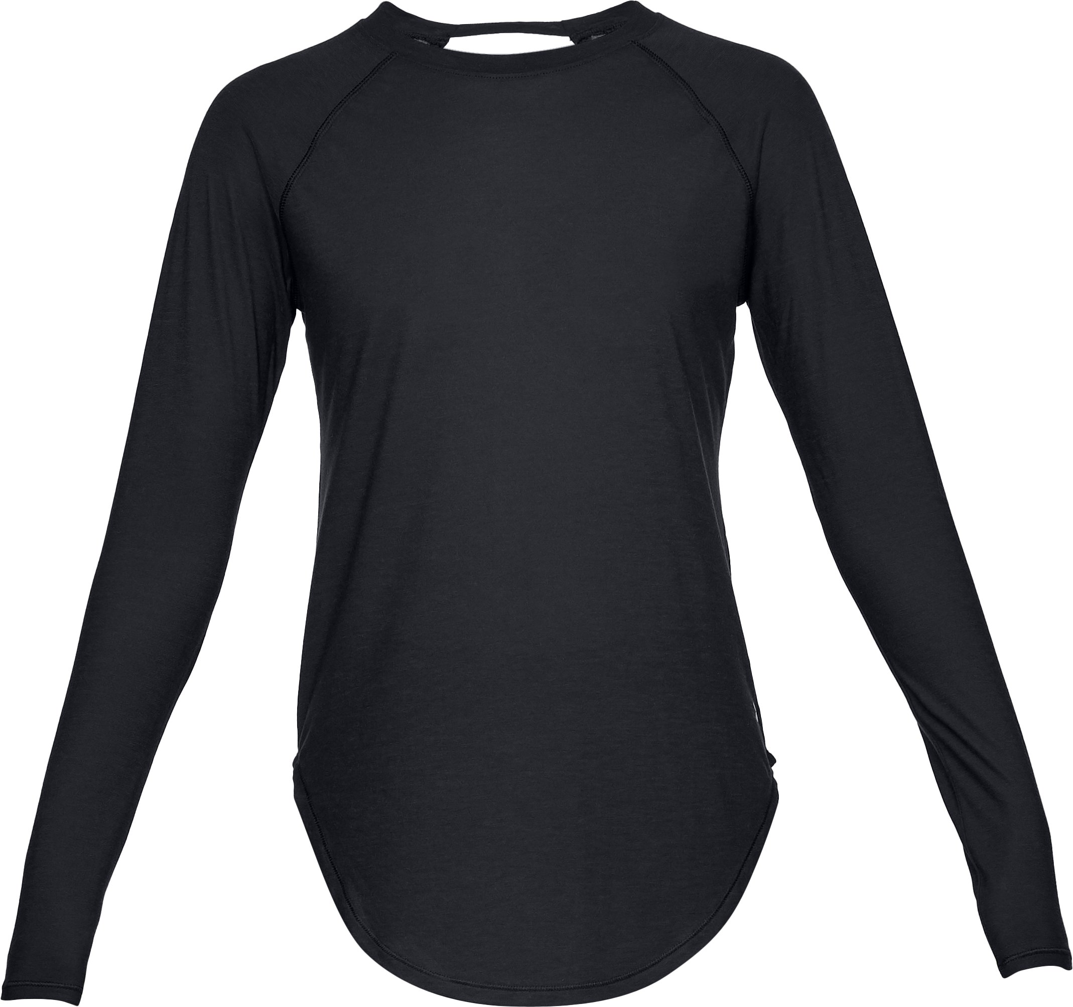Women's UA Breathe Long Sleeve, Black ,