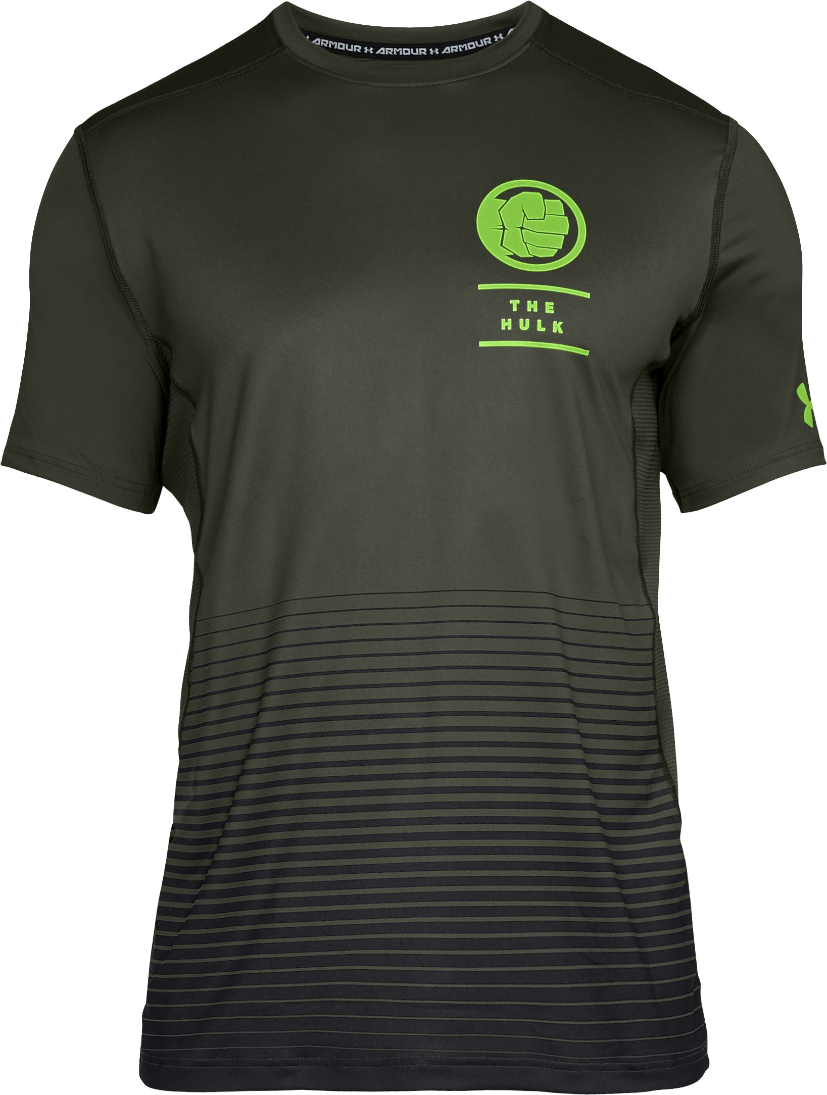 Men's Under Armour® Alter Ego The Hulk Raid Short Sleeve, DOWNTOWN GREEN,