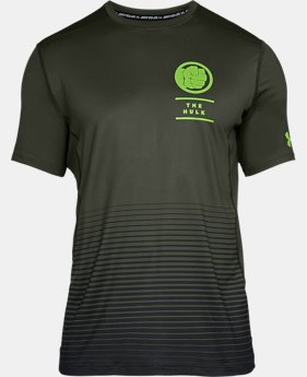 Men's Under Armour® Alter Ego The Hulk Raid Short Sleeve  1  Color Available $40