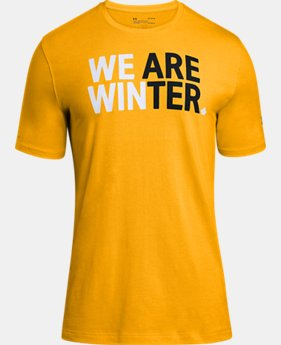 New Arrival  Men's UA Team Canada Performance We Are Winter T-Shirt  1 Color $35