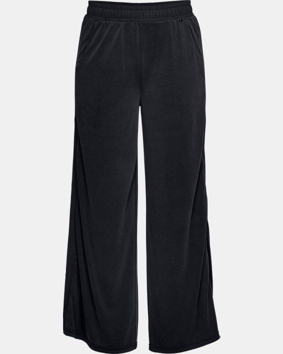 Women's UA Unstoppable Volume Pants, Black, pdpMainDesktop image number 3