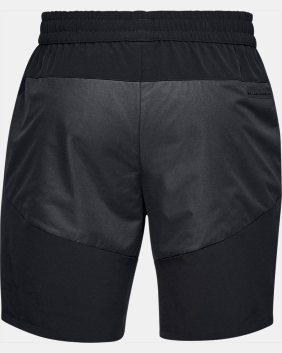 Men's UA Unstoppable GORE® WINDSTOPPER® Shorts, Black, pdpMainDesktop image number 4