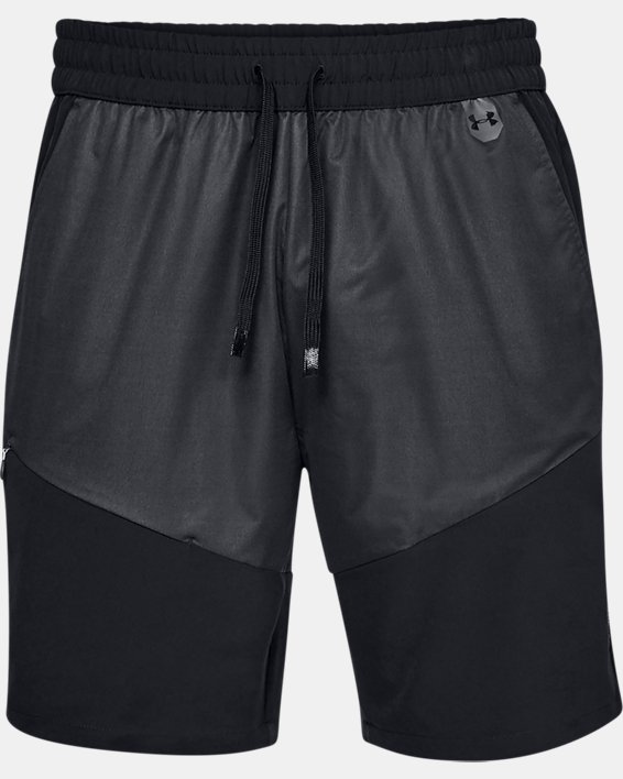 Men's UA Unstoppable GORE® WINDSTOPPER® Shorts, Black, pdpMainDesktop image number 3