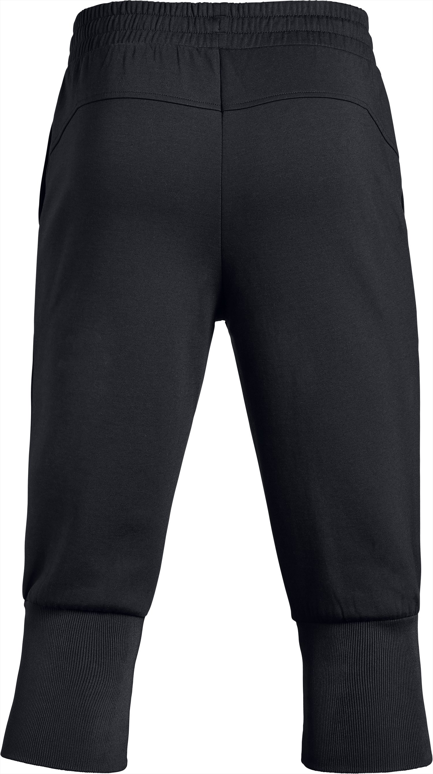 Men's UA Unstoppable Knit ¾ Joggers, Black ,