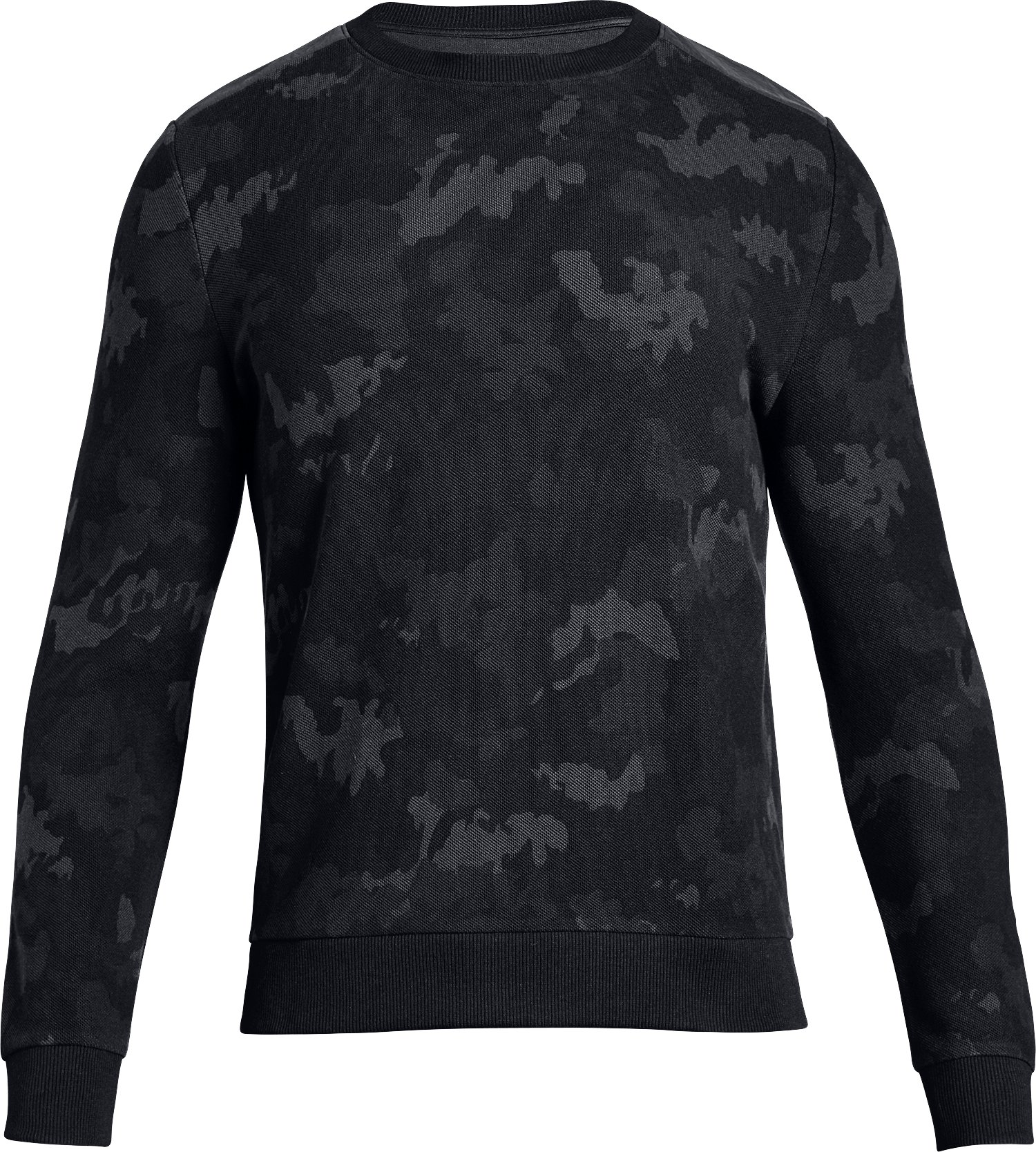 Men's UA Unstoppable Crew, Black ,