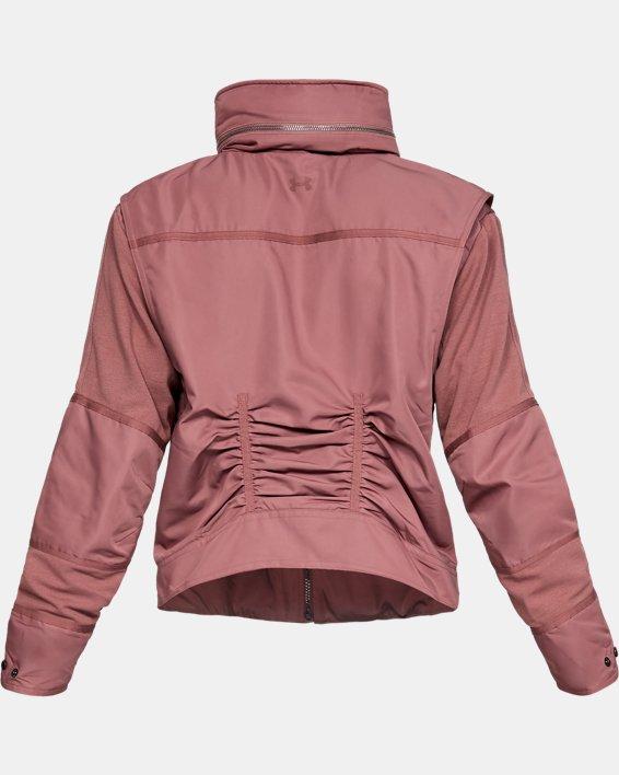 Women's UA Generation Jacket, Brown, pdpMainDesktop image number 5