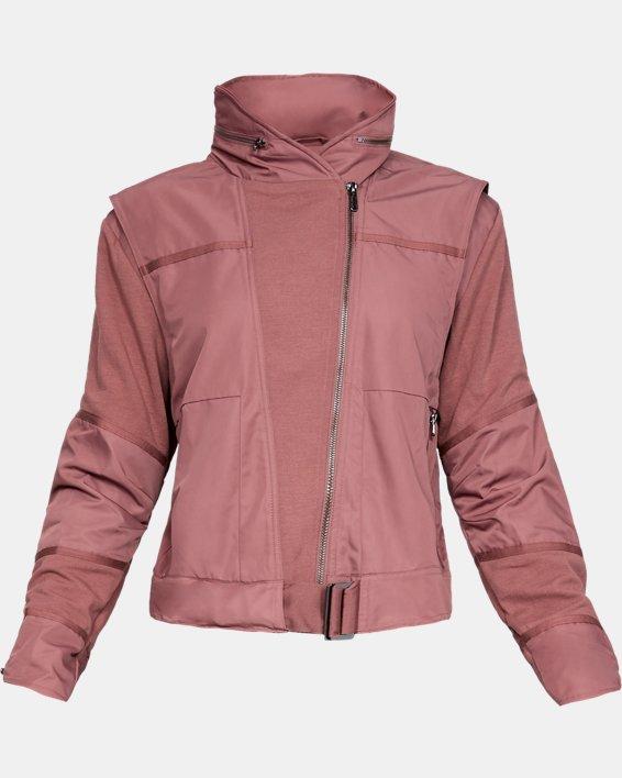 Women's UA Generation Jacket, Brown, pdpMainDesktop image number 4