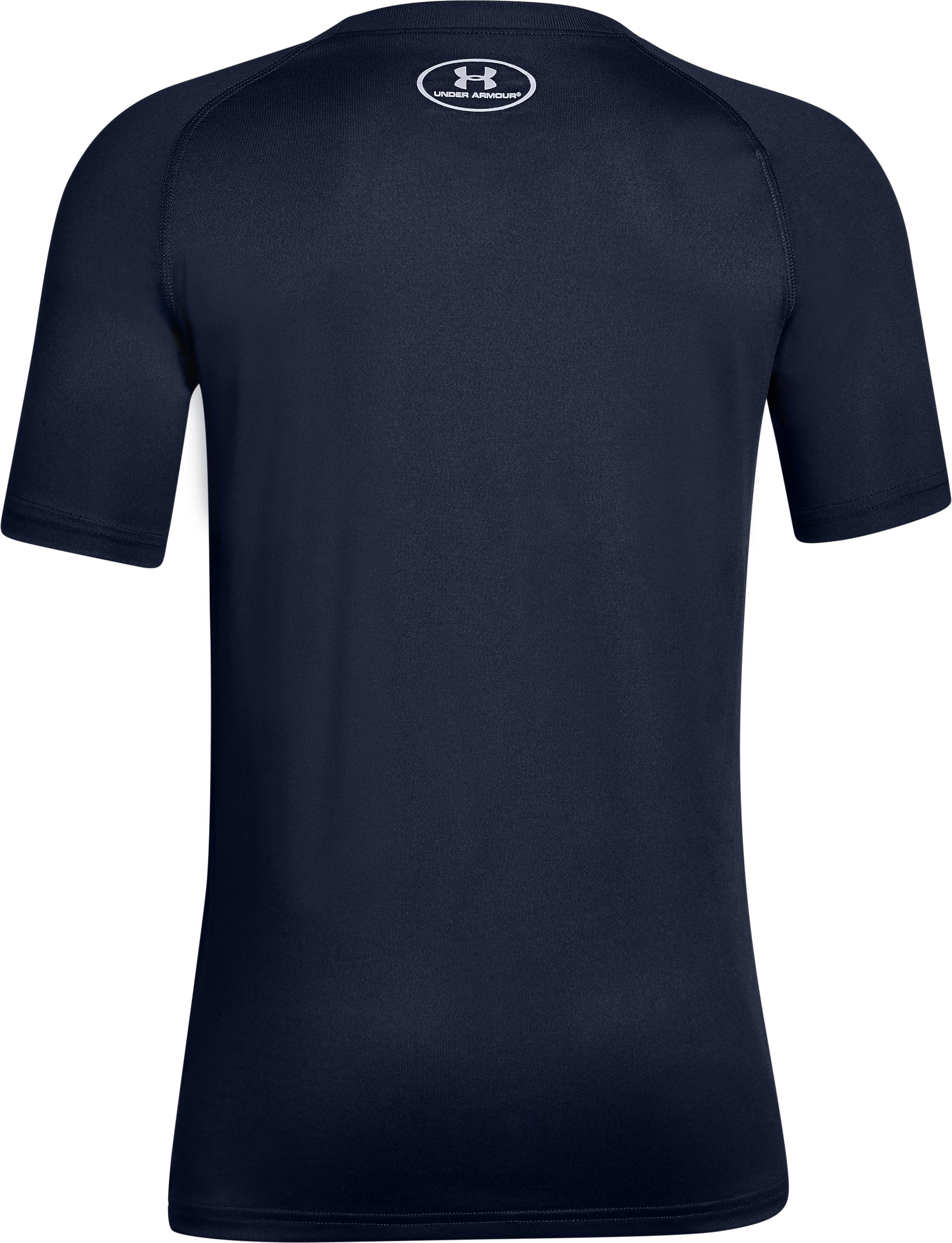 Boy's Notre Dame UA Tech™ T-Shirt, Midnight Navy, undefined