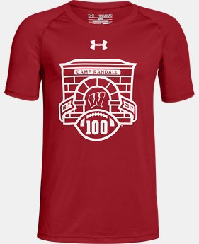 New Arrival Boy's Wisconsin UA Tech™ T-Shirt  1 Color $25.99