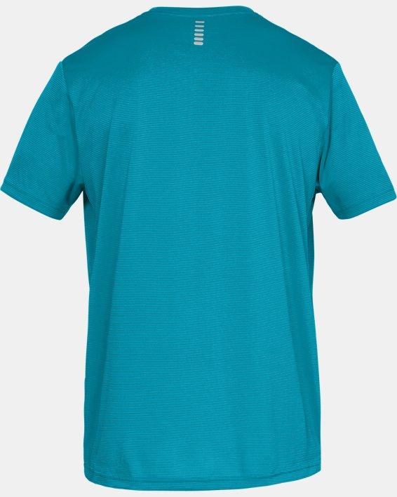 Men's UA Run Tall Graphic T-Shirt, Blue, pdpMainDesktop image number 5