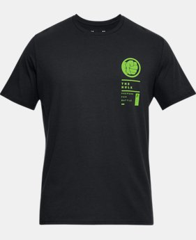 Men's UA The Hulk Battle T-Shirt  1  Color Available $35