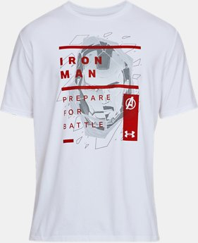 IRON MAN OVERLAY TEE  1  Color Available $35