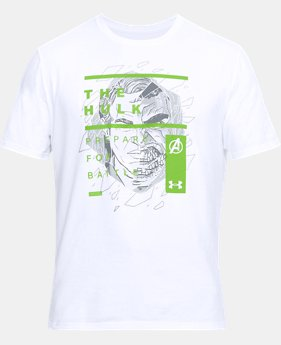 Men's UA The Hulk Overlay T-Shirt  1  Color Available $35