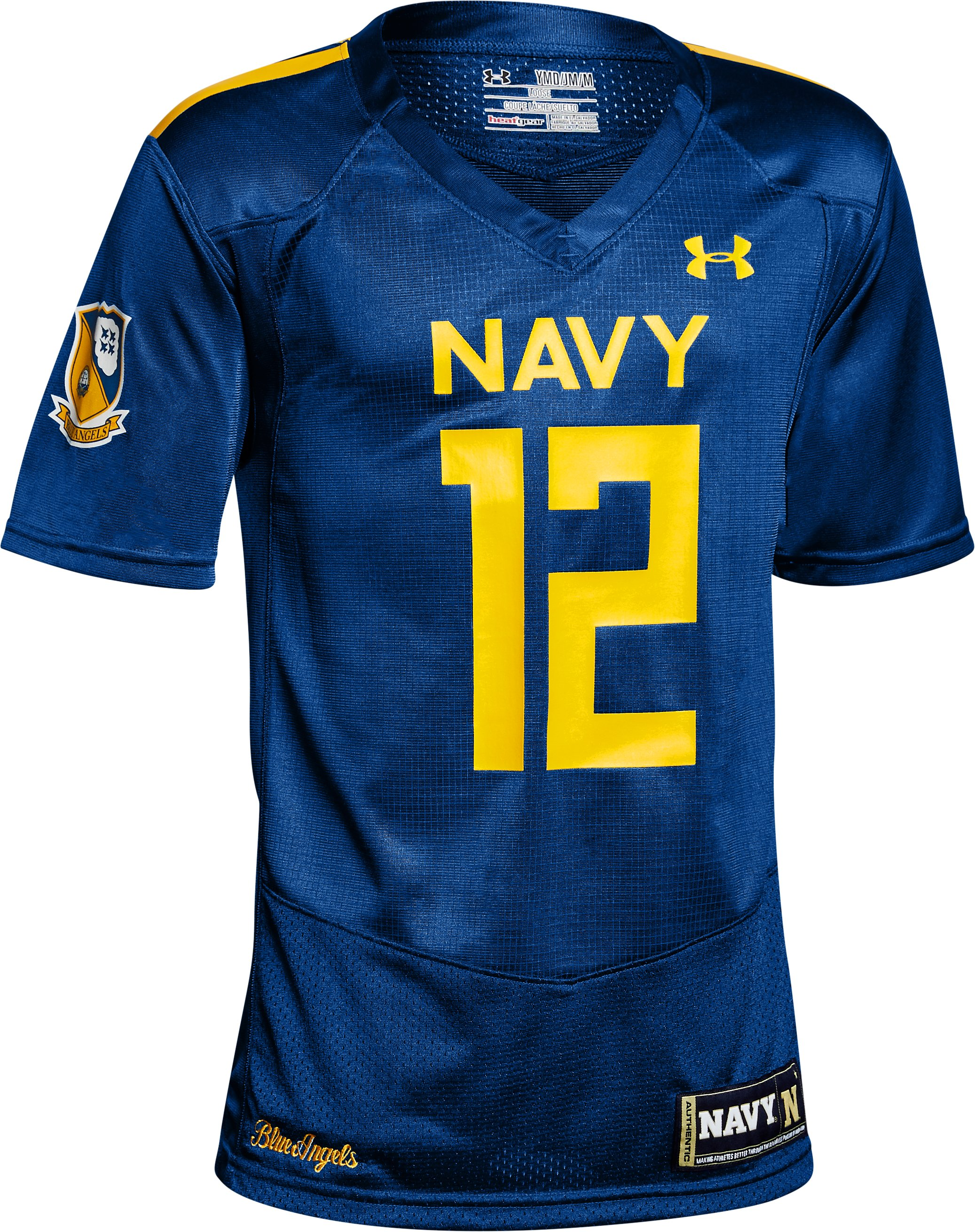 Boy's Naval Academy Replica Jersey, Royal, undefined