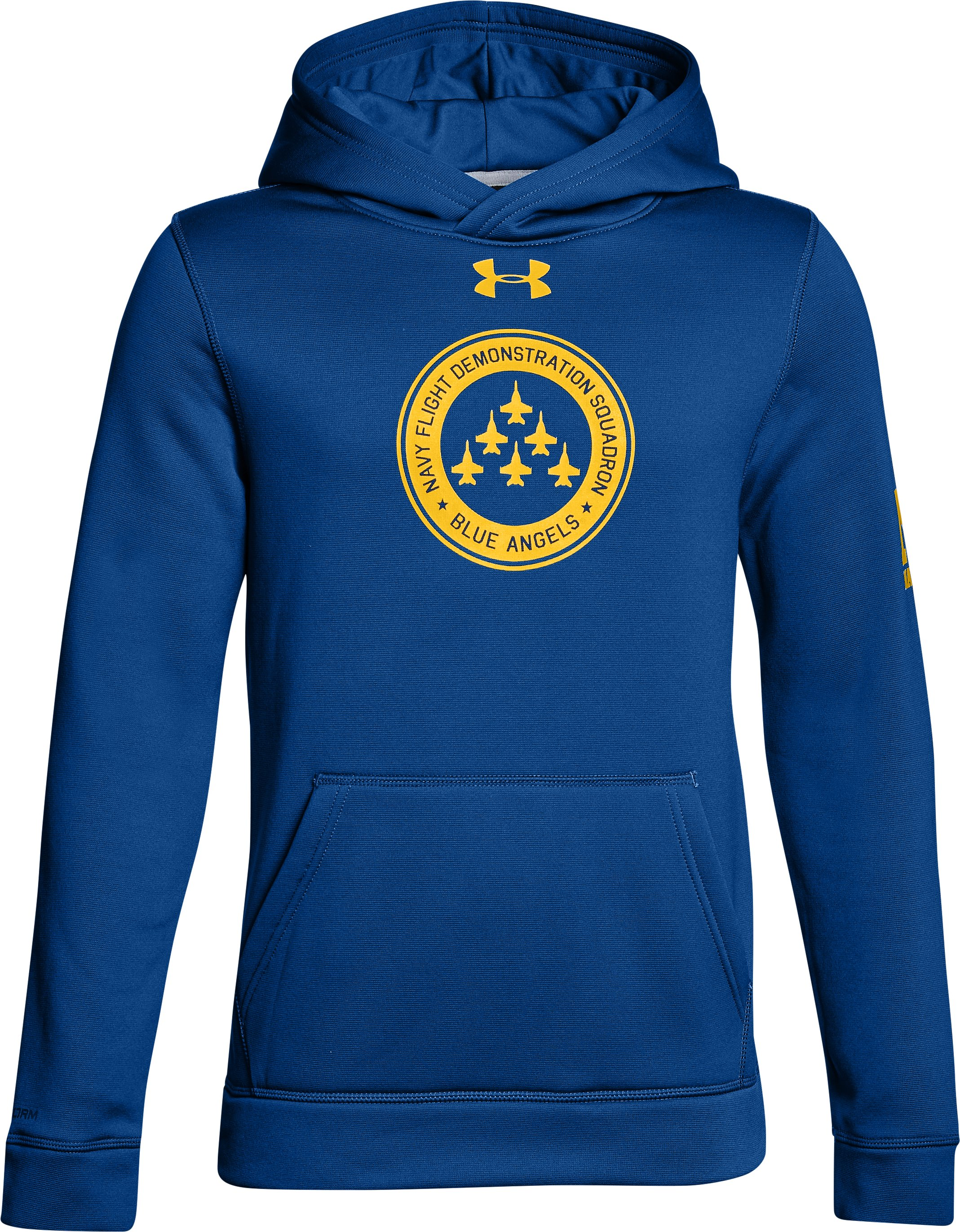 Boy's Naval Academy Armour Fleece® Hoodie, Royal, undefined