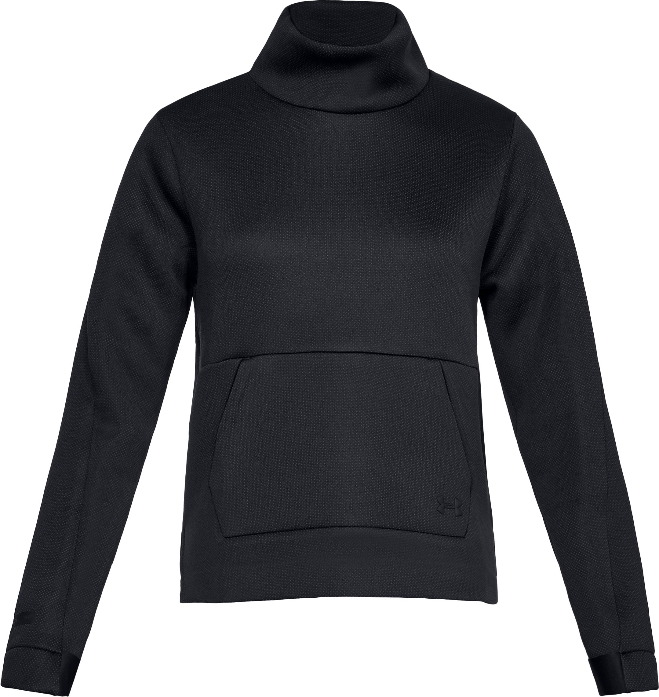 Women's UA Unstoppable /MOVE Mock Long Sleeve, Black ,