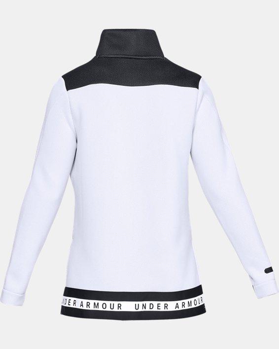 Women's UA Move Mock Long Sleeve, White, pdpMainDesktop image number 5