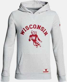 New Arrival Boy's Wisconsin Iconic Hoodie  1 Color $74.99