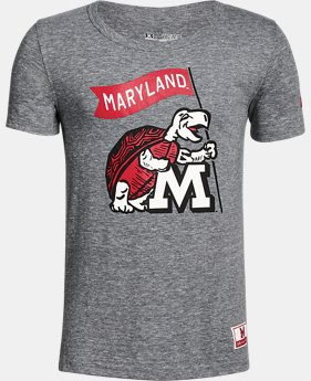 Boy's Maryland Iconic Tri-Blend Crew  1 Color $37.99