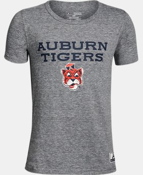 Boy's Auburn Iconic Tri-Blend Crew  1 Color $37.99